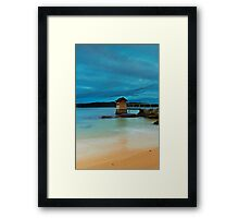 The Shed - Camp Cove NSW Framed Print