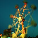 Ferris Wheel - Lindfield Fun Fair #3 by Matthew Floyd