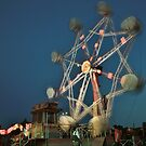 Ferris Wheel - Lindfield Fun Fair #4 by Matthew Floyd