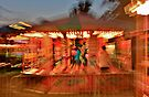 Fairground Explosion - Lindfield Fun Fair by Matthew Floyd