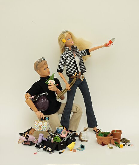 Barbie and Ken - EcoCrusaders by Sniperphotog