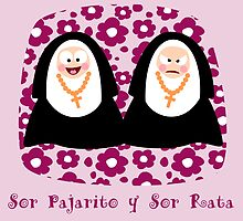 Dos Monjitas Two Nuns by Sonia Pascual