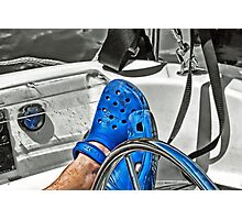 All Feet On Deck ;) Photographic Print
