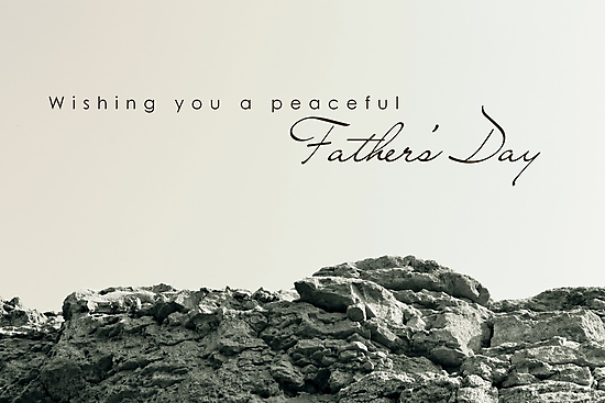 Peaceful Father's Day by Franchesca Cox