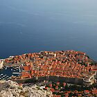Dubrovnik from above by julie08