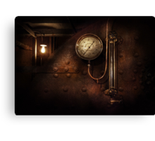Steampunk - Boiler Gauge Canvas Print