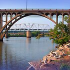 Coosa River and Bridges by olehippy13