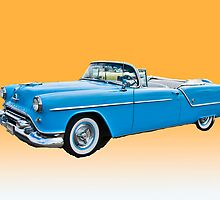 1954 Oldsmobile Super 88 Convertible by Bryan D. Spellman