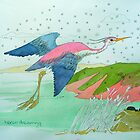 heron dreaming by avalyn