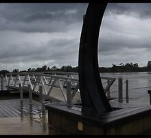 Manning River about to Go Under by Jason Allan