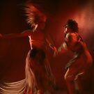The fire dance by JamesBryan