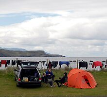 'Waiting for the Washing to Dry' at Glenbrittle campsite, Isle of Skye by rosie320d