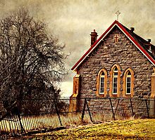 Old church - Gunning, New South Wales by Caroline Duncan