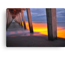 Venice Pier, As Is Canvas Print