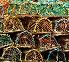 Lobster traps by Birgit Van den Broeck