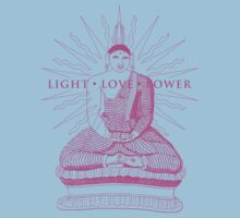 Buddha Light Love Power by Zehda