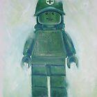 Legoman retro army by Deborah Cauchi