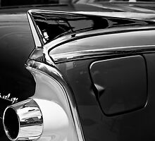 Dodge Coronet in Black and White by Kurt Golgart