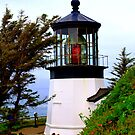 """Cape Meares Lighthouse"" by Lynn Bawden"