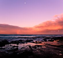 Sunset at Lorne VIC by axemangraphics