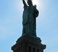 Lady Liberty by axemangraphics