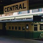 Historic Rail Motor at Central Station by Michael John