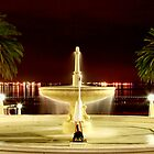 Fountains at Eastern Beach - Geelong by Jenna Florescu
