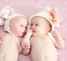 Precious Baby Twin Sisters by Jenna Florescu