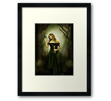 May the wings of a butterfly... Framed Print