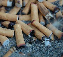 Dads cigarette stash.  by ashleeeeeigh