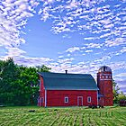 Andover Red Barn by pshootermike