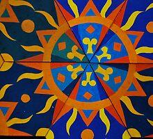 Sun dial design by xangac
