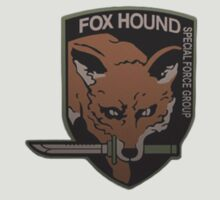Fox Hound metal gear solid design by its-mr-towel