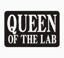Queen of the Lab - Sticker by LTDesignStudio