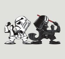 Fighting Empire - Fighting Irish Mashup with Stormtrooper and Vader by jimiyo