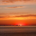 Sunrise over Far Rockaway, NY by WestEndBlvd