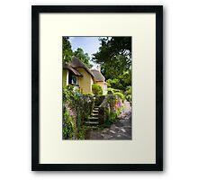 Selworthy Village, Exmoor Framed Print