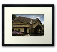 Selworthy Afternoon Cream Tea Framed Print