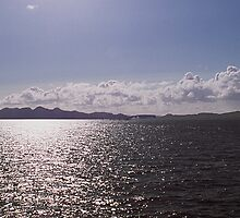 Isle of Rum In Afternoon Sun by photobymdavey
