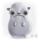 Cold hamster by womoomow