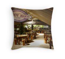 Bora Bora 'Bloody Marys' Throw Pillow