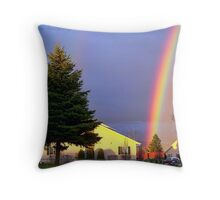 Now We Know Where the Rainbow Ends Throw Pillow