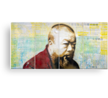 Tribute to Ai Weiwei: 21st Century Revolutionary Canvas Print
