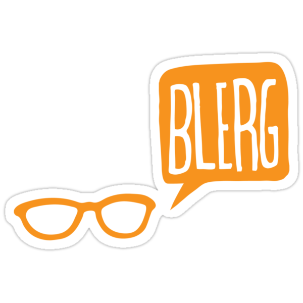 BLERG ORANGE! by sixtybones