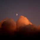 "Moon over glazed clouds by Alexa ""Lexi"" Platts"