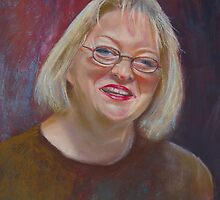 Portrait of Margaret by Lynda Robinson