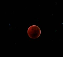 Red Eclipse  by Pene Stevens
