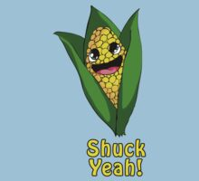 Shuck Yeah! Cute corn. by Atomicfish