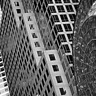 New York Buildings - Black & White by Alanqpr