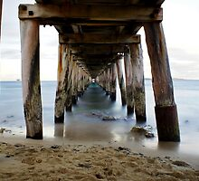 Under the pier - Point Lonsdale, Victoria by beeday78